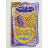 72 Units of NAILS AND JEWLERY SET - Girls Toys