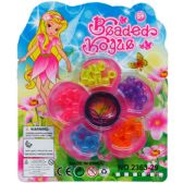 144 Units of MINI BEADS-JEWELRY PLAY SET IN BLISTER CARD - Girls Toys