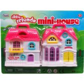 48 Units of LITTLE FRIENDS MY HOUSE IN BLISTER CARD - Girls Toys