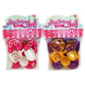48 Units of COOKING PLAY SET IN POLY BAG WITH HEADER - Girls Toys