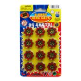576 Units of 8-SHOT 12-RING CAPS IN BLISTER PACK - Darts & Archery Sets