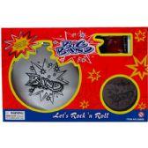 12 Units of 6PC BIG BAND DRUM PLAY SET IN WINDOW BOX - Boy Play Sets