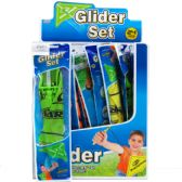 """144 Units of 13"""" GLIDER PLAY SET IN POLY BAG - Boy Play Sets"""