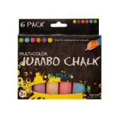 72 Units of Multi-Color Jumbo Chalk Set - Chalk,Chalkboards,Crayons