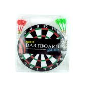18 Units of Dartboard Game with Hard Tip Darts - Dominoes & Chess