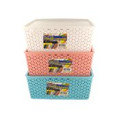 12 Units of Multi-Use Home Storage Container with Lid - Storage Holders and Organizers