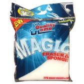 72 Units of 2 Pack Magic Eraser & Sponge - Scouring Pads & Sponges