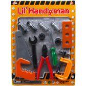 36 Units of Twelve Piece Little Handyman Tool Set - Toy Sets