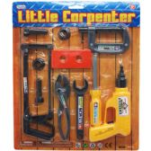 36 Units of LITTLE CARPENTER TOOL PLAY SET IN BLISTER CARD - Tool Sets