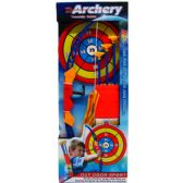 """12 Units of 22"""" SUPER ARCHERY PLAY SET W/CARRYING CASE IN OPEN BOX - Toy Sets"""