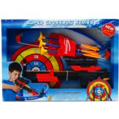 """12 Units of 15"""" CROSSBOW PLAY SET W/TARGET, IN OPEN BOX - Toy Sets"""