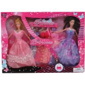 "24 Units of 2PC 11"" BENDABLE DOLL SET W / 5 EXTRA OUTFITS IN WINDOW BOX - Dolls"