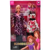24 Units of FASHION DOLL WITH EXTRA OUTFIT IN WINDOW BOX - Dolls