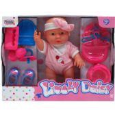 "18 Units of 9"" BABY DAISY & CARE PLAY SET IN WINDOW BOX - Dolls"
