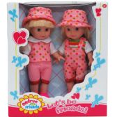 12 Units of TWO PIECE ANDREA AND FRIENDS DOLL SET IN WINDOW BOX - Dolls