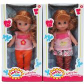 "24 Units of 10"" ANDREA AND FRIENDS DOLL IN WINDOW BOX, TWO ASSORTED - Dolls"