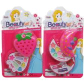 72 Units of 2LEVEL MAKE BEAUTY SET IN BLISTER CARD - Toy Sets