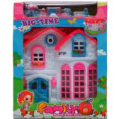 "18 Units of 3.5""x8"" TWO SIDE MINI HOUSE W/MINI FURNITURE IN WINDOW BOX - Toy Sets"