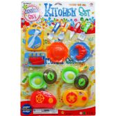 24 Units of 20PC KITCHEN PLAY SET IN BLISTER CARD - Toy Sets