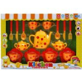 12 Units of 19PC TEA PLAY SET IN WINDOW BOX - Toy Sets