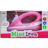 "24 Units of 8.5"" B/O MINI TOY IRON W/LIGHT & SOUND IN WINDOW BOX - Toy Sets"