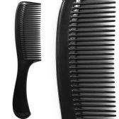 288 Units of HANDLE COMB 1PC BRUSH - Hair Combs