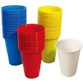 96 Units of 16 PC DISPOSABLE CUPS 16 OZ - Plastic Drinkware