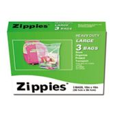72 Units of 3 PC LARGE STORAGE BAGS 15 INCH X 15 INCH - Bag