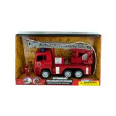 6 Units of Fire Rescue Truck with Water Hose - Cars/Planes/Train/Bikes