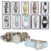 100 Units of LADIES WATCH IN GIFT BOX ASSORTED STYLES