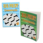 48 Units of CROSSWORD PUZZLE BIG PRINT ASSORTED STYLES - Dictionary & Educational Books