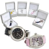 40 Units of MENS WATCHES WITH RINESTONES ASST STYLES WITH GIFT BOX