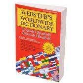 60 Units of WEBSTERS BILINGUAL DICTIONARY ENLISH TO SPANISH - Dictionary
