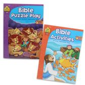 96 Units of RELIGIOUS ACTIVITY BOOKS ASSORTED STYLES - Puzzle Books