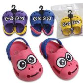 48 Units of CLOGS KIDS MONKEY SIZES 7-12 4 ASSORTED COLORS - Kids Aqua Shoes