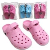 36 Units of CLOGS LADIES SIZES 5-10 4 ASSORTED COLORS - Womens Clogs