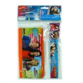 96 Units of 4PC ICARLY STATIONERY SET IN PVC BAG WITH HEADER - School Supply Kits