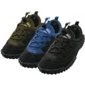 "36 Units of Men's Lace Up ""Wave"" Water Shoes - Men's Aqua Socks"