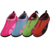 36 Units of Women's Aqua Shoes - Women's Aqua Socks