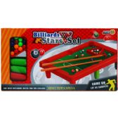 "24 Units of 10.5""x7"" POOL TABLE PLAY SET IN COLOR BOX - Sports Toys"
