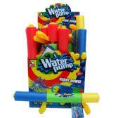 "48 Units of 17.5""L x 2""D WATER PUMP W/2HANDLES IN DISPLAYASST. COLORS - Water Guns"