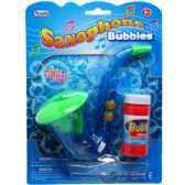 48 Units of MUSICAL BUBBLES SAXOPHONE WITH LIGHT - Bubbles