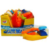 48 Units of ASST BEACH TOYS W/ACCSS IN NET BAG & DISPLAY - Beach Toys