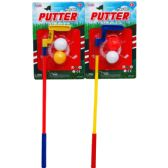 """48 Units of 16"""" MINI PUTTER PLAY SET IN BLISTER CARD - Boy Play Sets"""