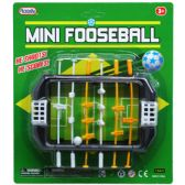 "72 Units of 5.5"" MINI FOOSEBALL GAMEBOARD IN BLISTER CARD - Sports Toys"