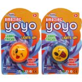 48 Units of LIGHTUP AMAZING YOYO IN BLISTER CARD