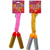 96 Units of SKIPPING JUMP ROPE WITH PEGABLE TAG,