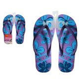 72 Units of Women's Printed Flip Flop 5-10