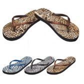 48 Units of Ladies Flip Flaps--Cheetah Prints