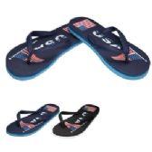 48 Units of Men's Flip Flops--USA - Men's Flip Flops